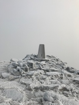 Cairn at the top of Hope