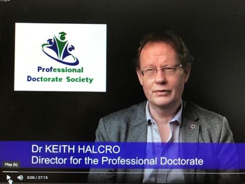 Dr Keith Halcro 17122019